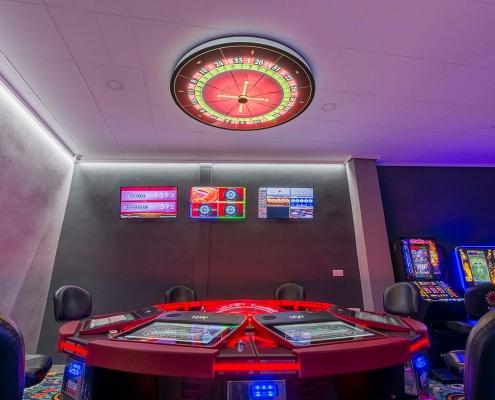 ruleta magic dlx en salón de juego betxí