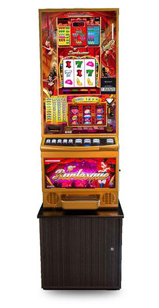 máquina slot burlesque